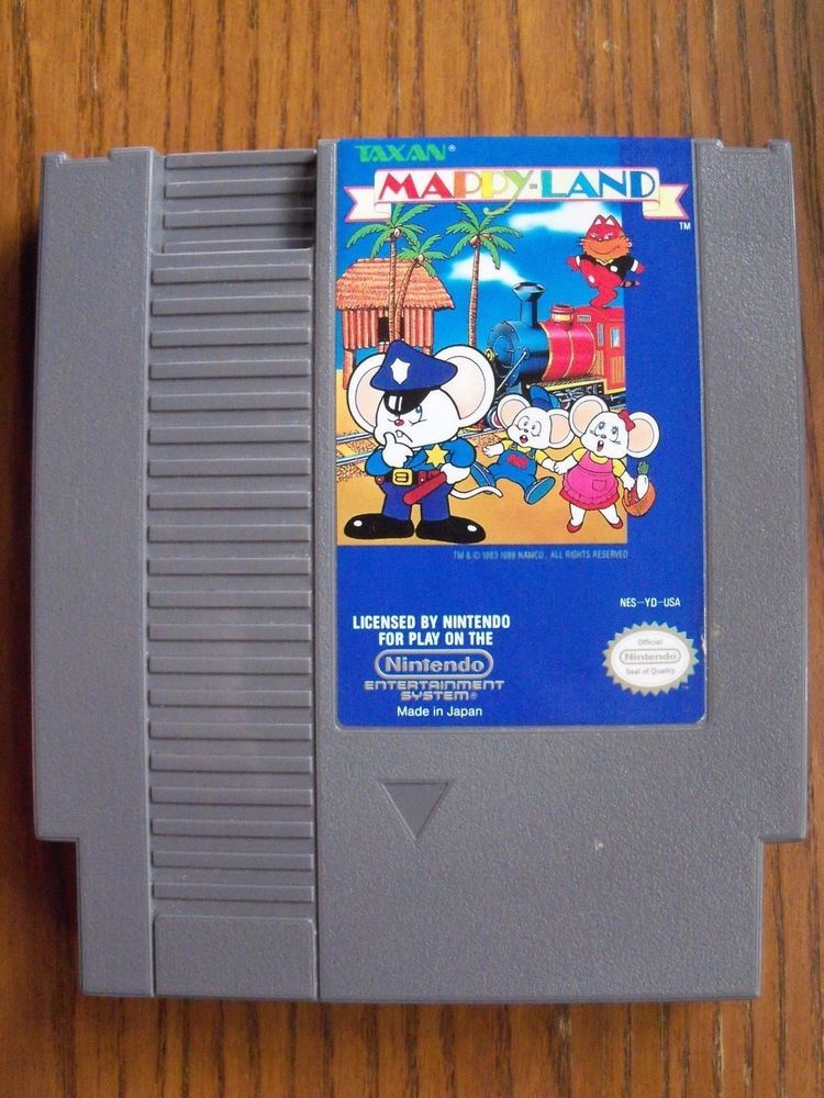 Mappy Land for the Nintendo NES.  Game Cartridge Only.  40886627793 | eBay