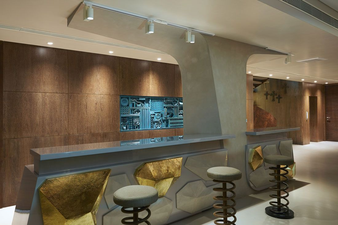 indian art with contemporary furniture creates a splendid fusion rh pinterest com