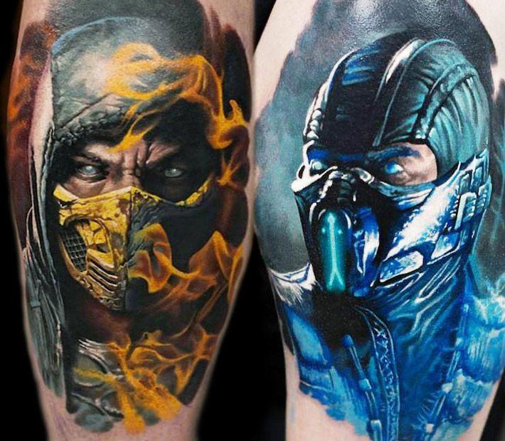 Mortal Kombat Tattoos Mortal Kombat Pinterest Mortal border=