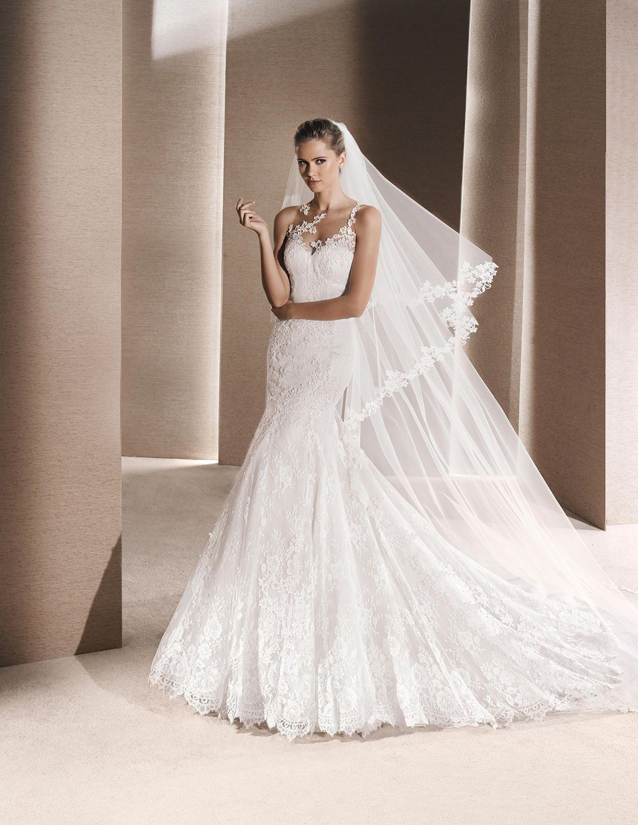 RUSTICA - Mermaid wedding dress with sweetheart neckline | La Sposa