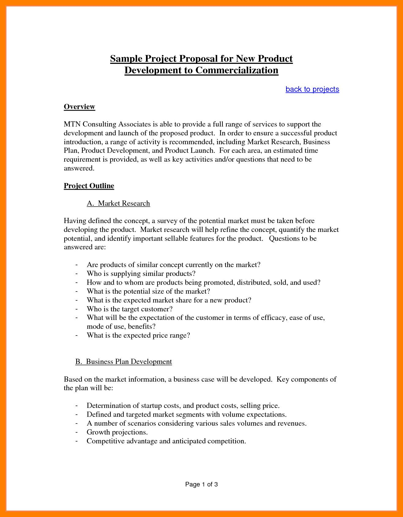 The appealing Business Plans For Sale Proposal Template