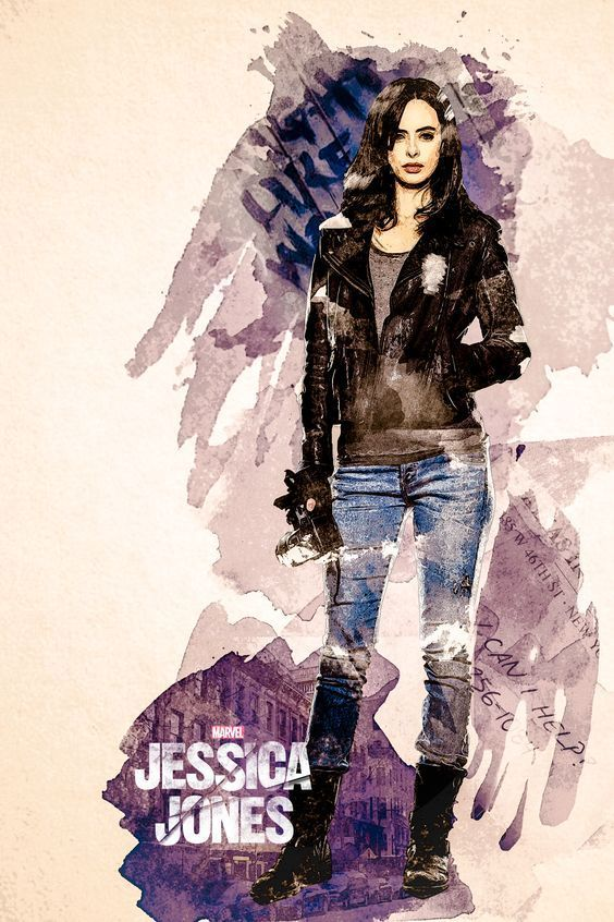 Jessica Jones Poster Jessica Jones This Nerdy Girl In