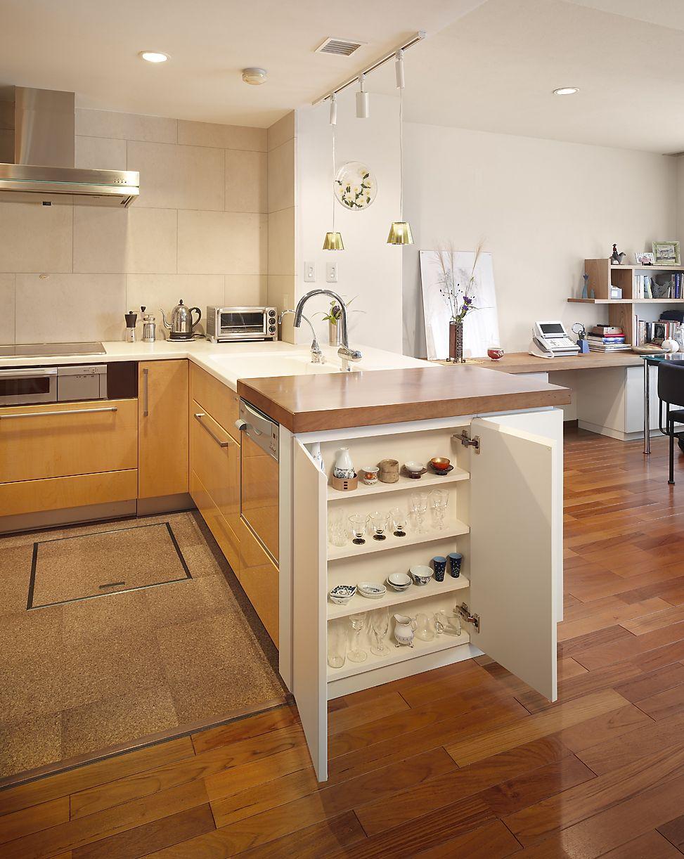 ミサワホームイングデザインリフォーム マンションのキッチンと