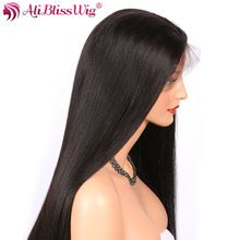 Photo of AliBlissWig Glueless Full Lace Wigs With Baby Hair Natural C…