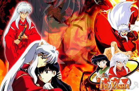 Inuyasha S Burning Love Inuyasha Wallpaper Id 446603