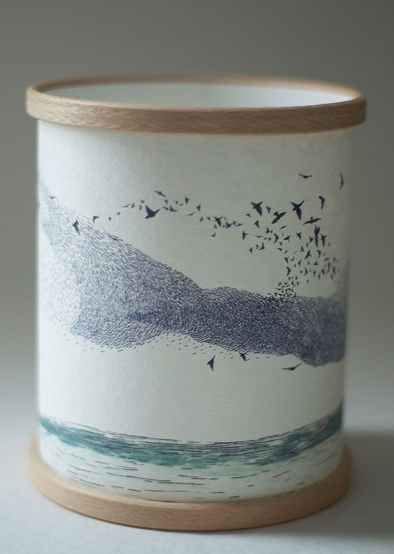 MURMURATION CANDLE COVER by ANorthernLightLamps on Etsy