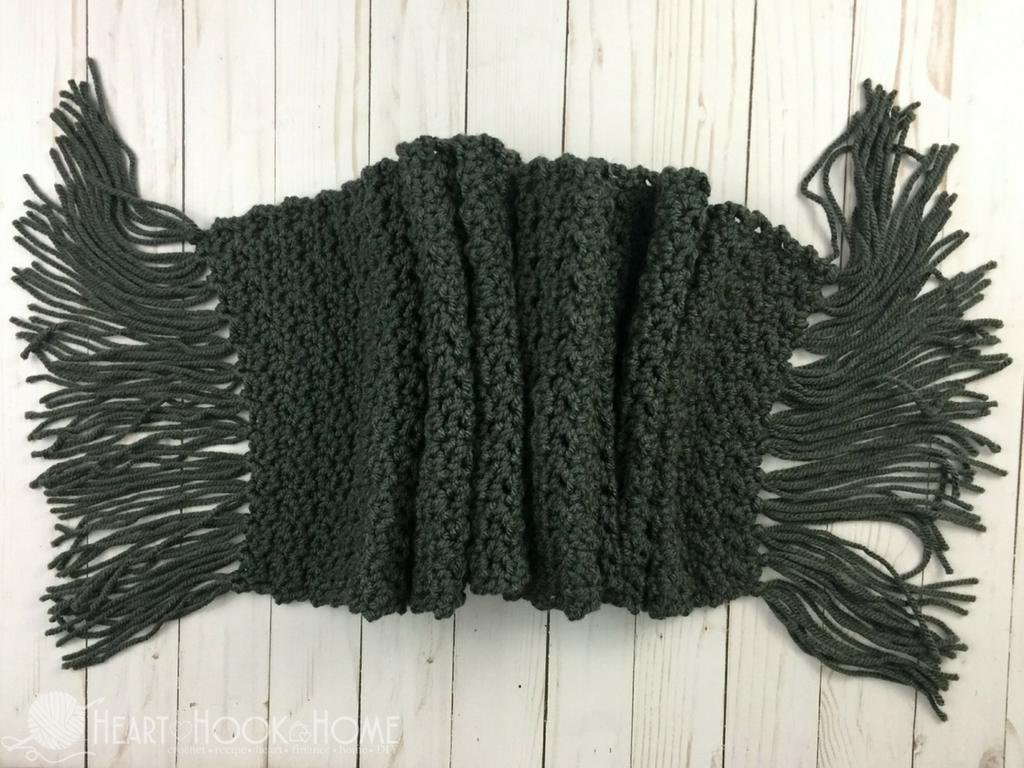Simple Scarf for Men Free Crochet Pattern | Crochet | Pinterest