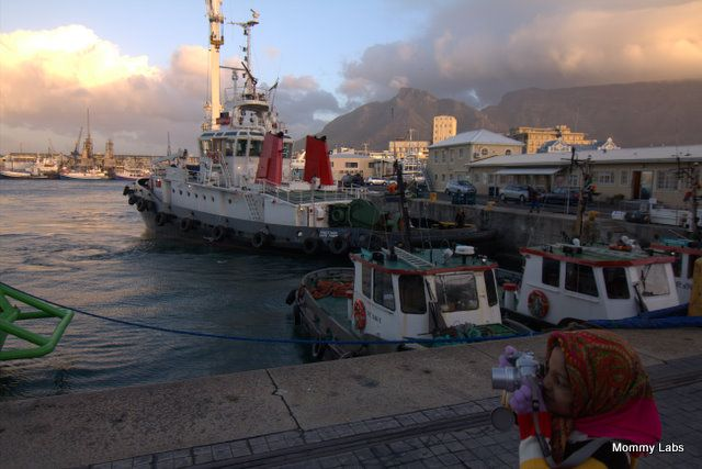 Victoria and Alfred Waterfront, Cape Town (the windy city!), South Africa