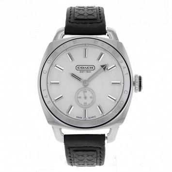 Coach CA.18.7.14.0376 Stainless Steel Quartz Men's Watch. Get the lowest price on Coach CA.18.7.14.0376 Stainless Steel Quartz Men's Watch and other fabulous designer clothing and accessories! Shop Tradesy now