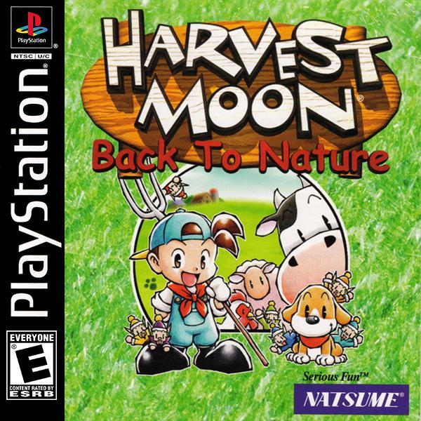 Harvest Moon Back To Nature Harvest Moon Childhood Memories Ps1