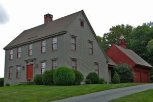 Large Saltbox House Design Colonial Exterior Colonial House Saltbox Houses