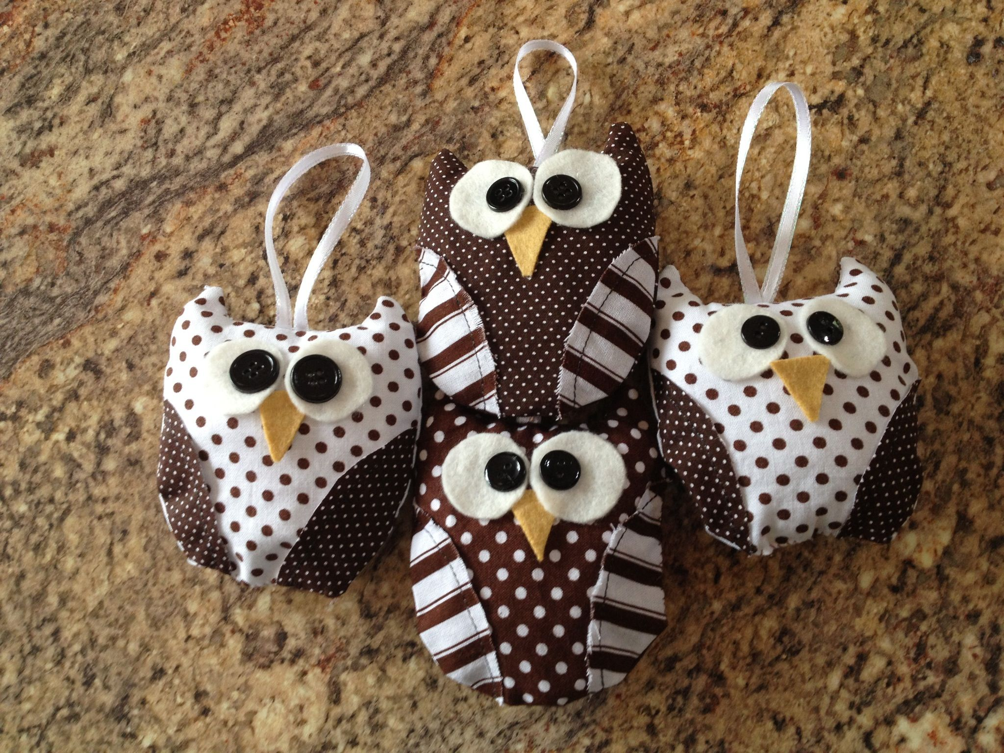 Owl Christmas ornaments | Chouette, Porte clef, Chouette hibou