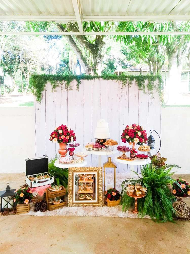 Cactus Engagement Party Ideas Bridal Shower Party Bridal Shower Rustic Garden Party Birthday