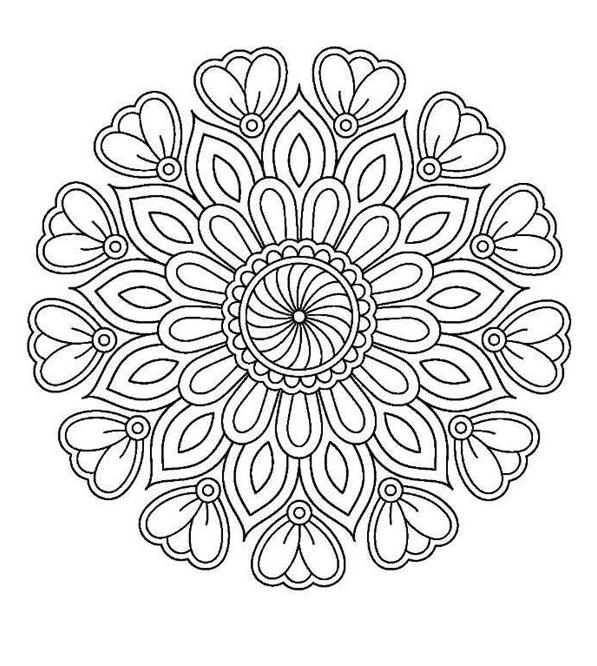 Coloring Mandalas Mandala Coloring Pages Colouring Printables Free Printable Coloring Pages