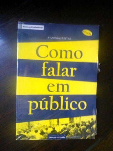 """Doação de 1 Livro """"Como Falar em Público"""" - #livro #doacao #autoajuda #gratis"""