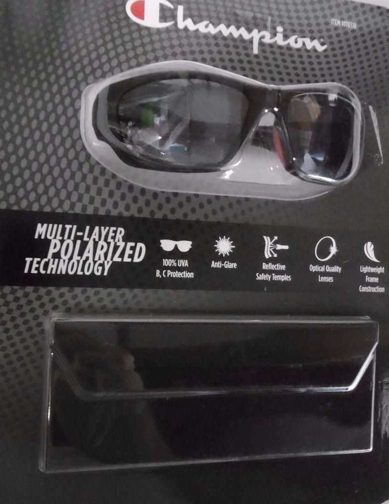 CHAMPION SUNGLASSES CU8020CA Polarized Grey Lens 100% UVA,B,C  Anti Glare B39 #Champion #MultiLayerPOLARIZEDTechnology
