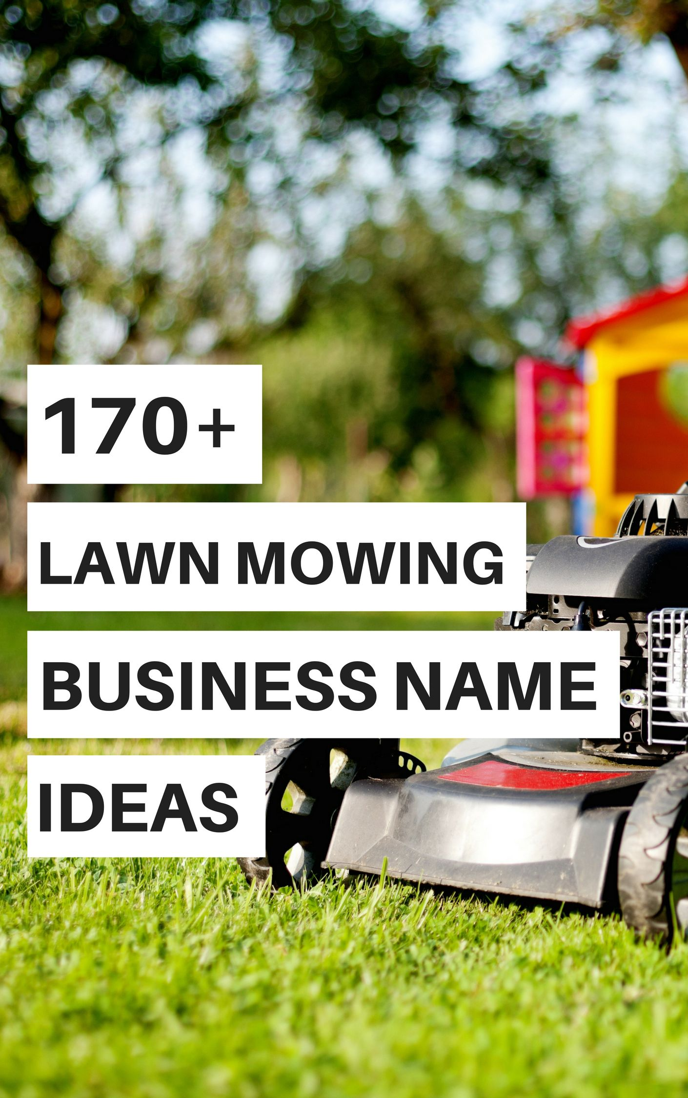 170  lawn mowing business name ideas