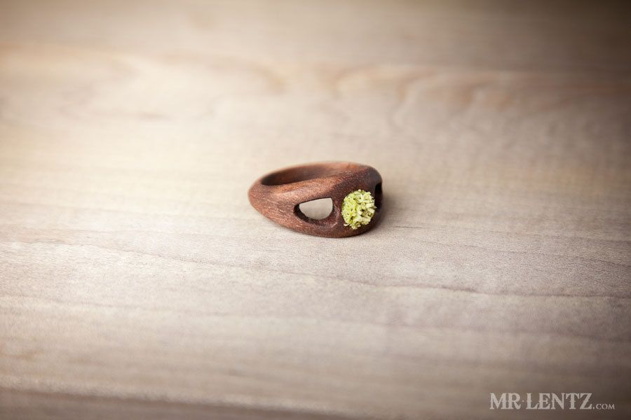 Women's Wood Wedding Ring Women's Wood Engagement Ring by MrLentz, $84.00