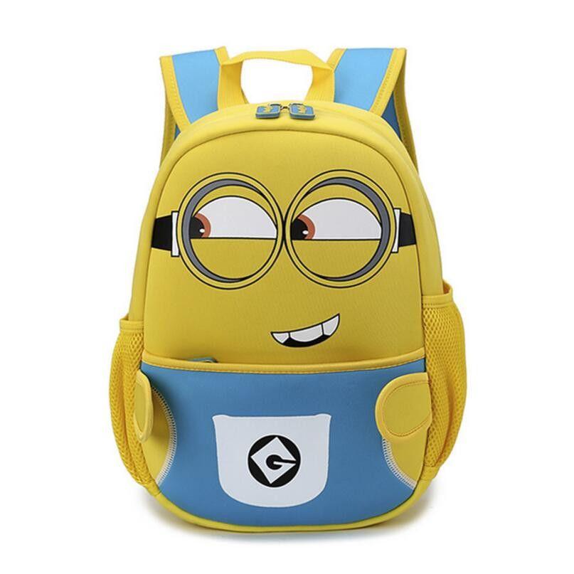 88d1011be30 kindergarten backpack minions bags for boys children backpacks cartoon bag  despicable me small bags for gift