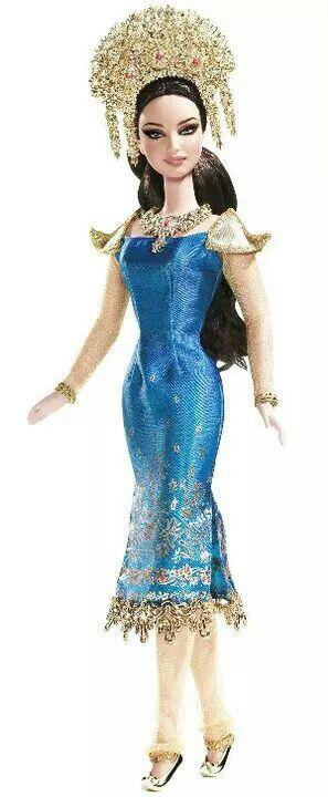 Barbie princesa da Indonésia