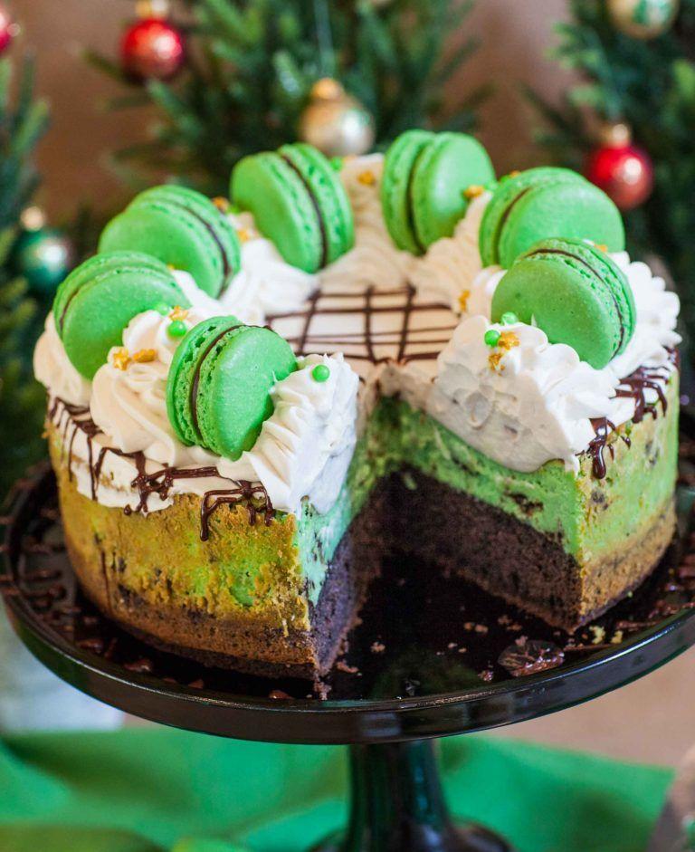 Irish Cream Chocolate Mint Cheesecake Рецепт Сладости