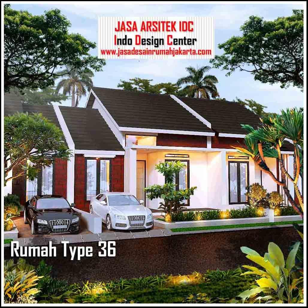 Gambar Rumah Type 36 Minimalis 2018 ( Part 2 of 3) denah ...