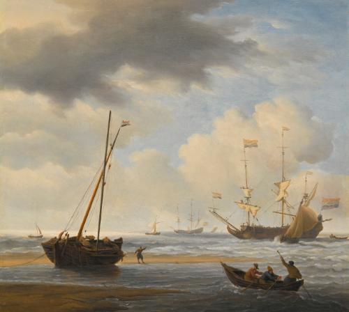 velde willem a kaag aground   marine   sotheby's l16034lot93v9pen