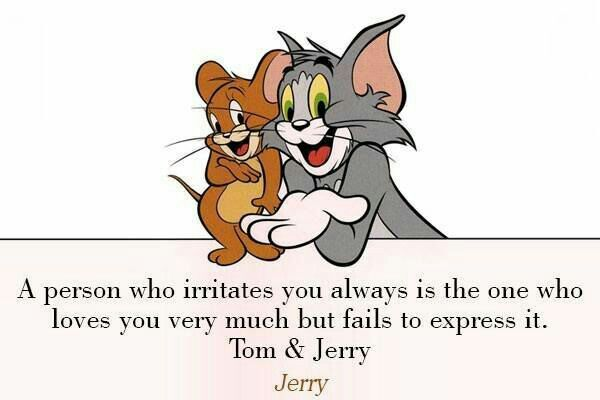 Tom N Jerry Friendship Quotes Pinterest Friendship Quotes
