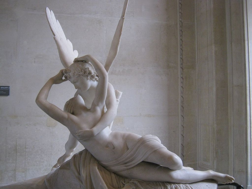 eros and psyche sculpture.