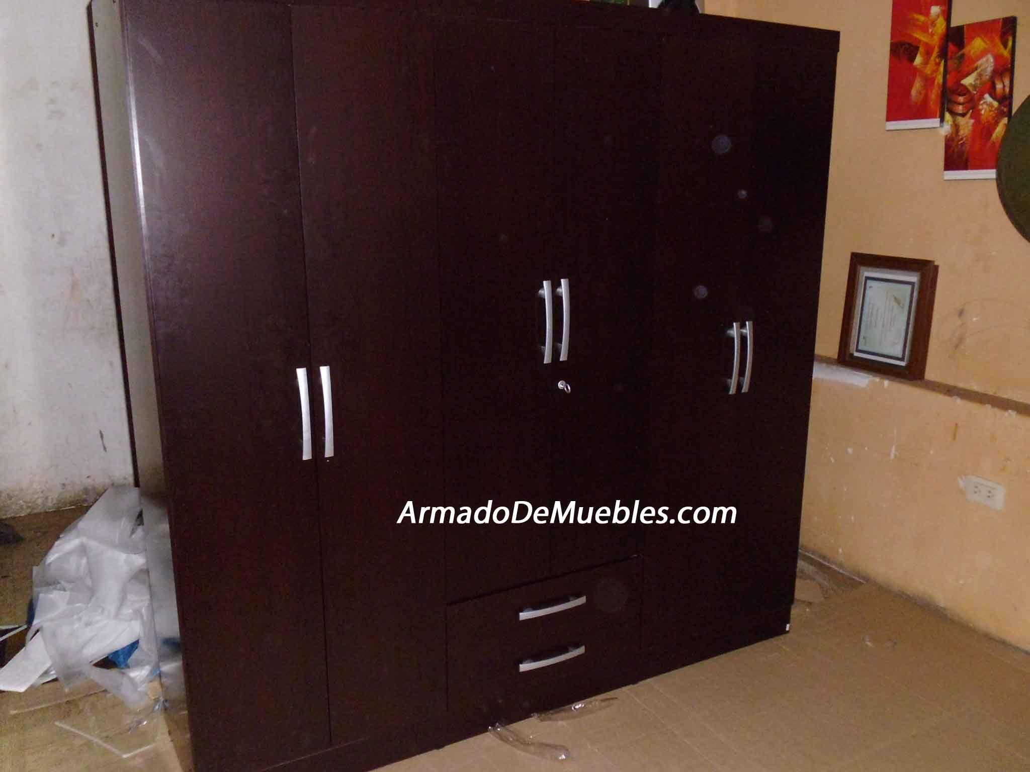 Armado De Muebles Ropero 6 Puertas 2 Cajones De Sodimac Contacto  # Muebles Oechsle