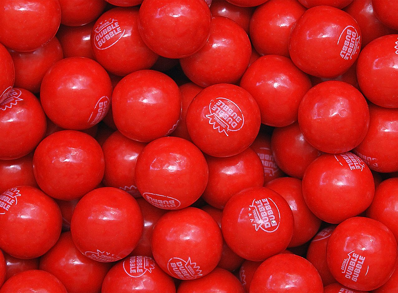 Bubblegum Pomegranate Gumballs 25 Mm By Company Concord Confections 850 Count Gumball Pomegranate Online Candy
