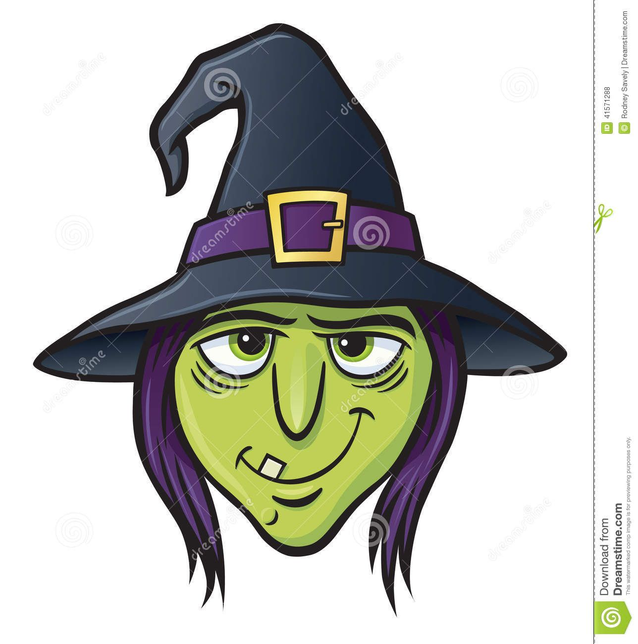 Line Drawing Of Witches Face : Witch face cartoon illustration s g