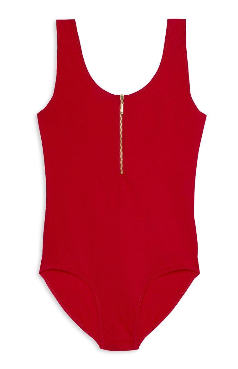 5ecd56f978a1c Primark - Red Bodysuit | Primark | Bodysuit, Red bodysuit, Street ...