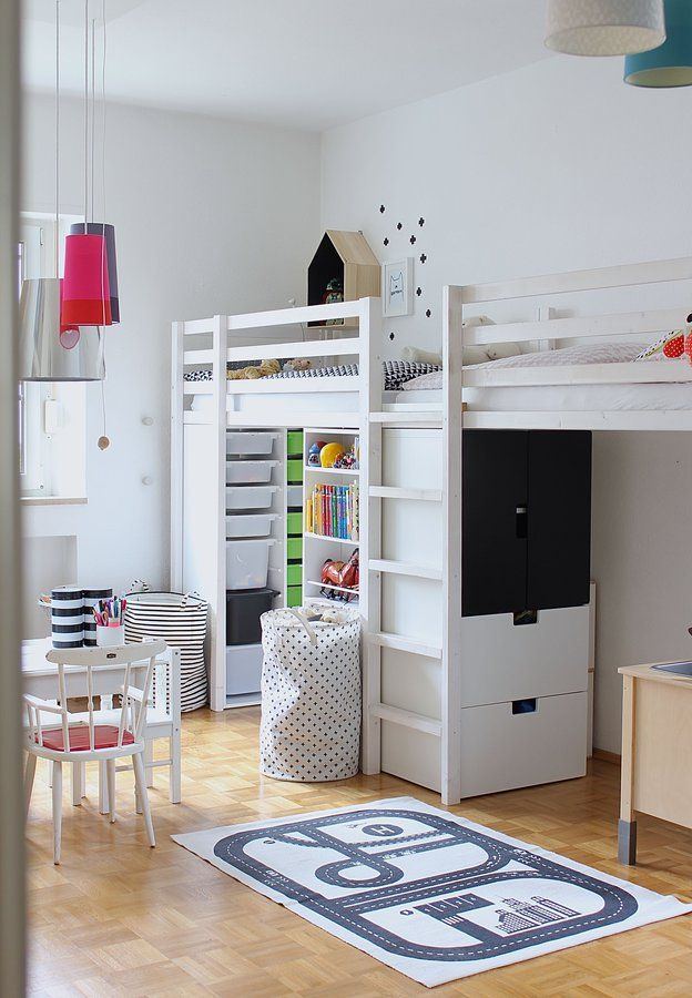 Pin de k g kubicek en future home pinterest for Muebles habitacion infantil nina