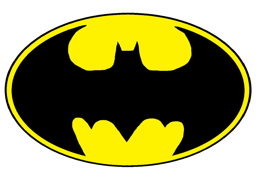 Batman symbol cool. Free printable logo clipart