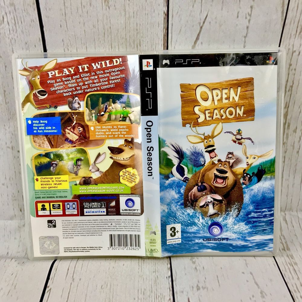 Details about Open Season PSP Sony playstation complete