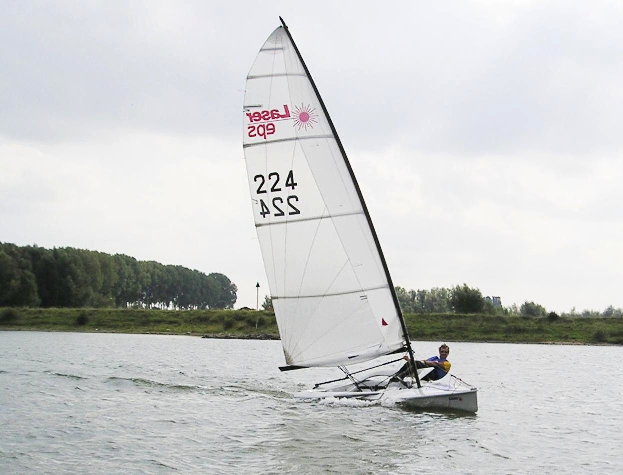 A Dutch Laser Eps Page In 2020 Sailing Dinghy Boat Building Plans Boat Building