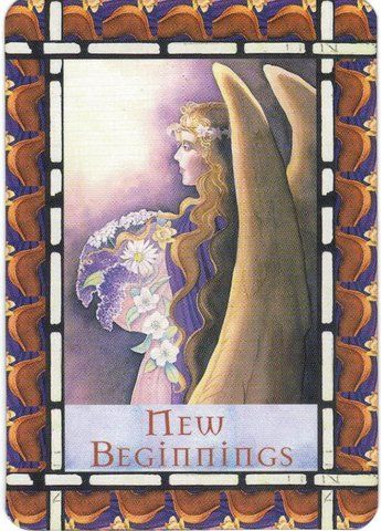 Card meaning: Believe in yourself, and have faith that the angels