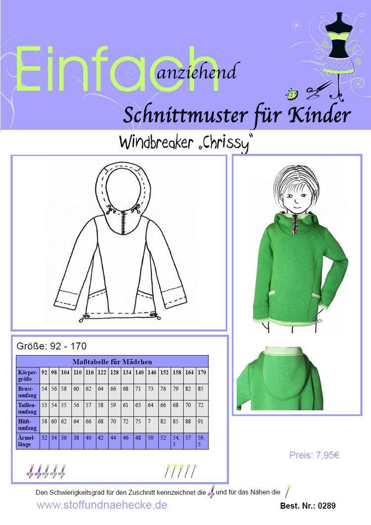 Schnittmuster Windbreaker \