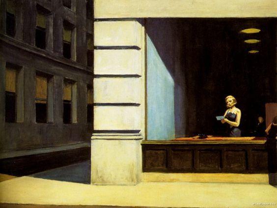 Ufficio Discount : Edward hopper paintings 121.jpg art sketchbook inspiration