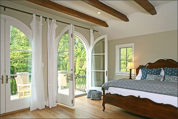 I have always dreamed my master bedroom would have french doors to ...