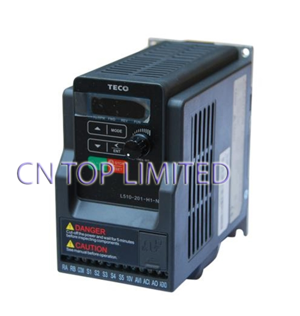 142.50$  Buy now - http://alim2a.worldwells.pw/go.php?t=1888838083 - TECO 1 phase  220V 4.3A 0.75KW 1HP  inverter VFD frequency AC drive L510-201-H1-N NEW 142.50$