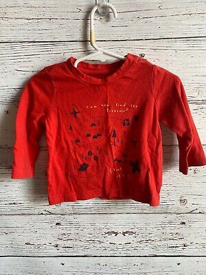 Baby Gap Boys Size 612 Months Can You Find The Treasure Graphic TShirt ebay link