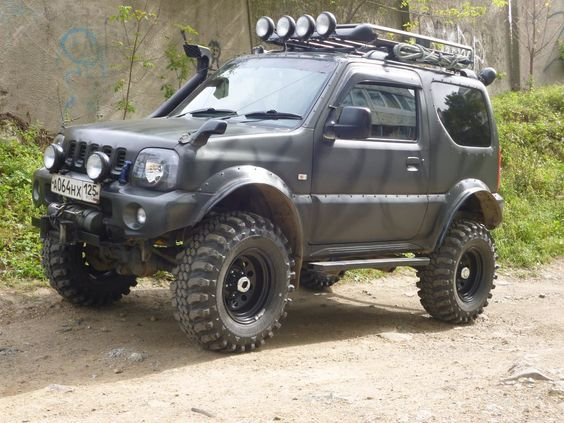 suzuki jimny google jimny pinterest. Black Bedroom Furniture Sets. Home Design Ideas