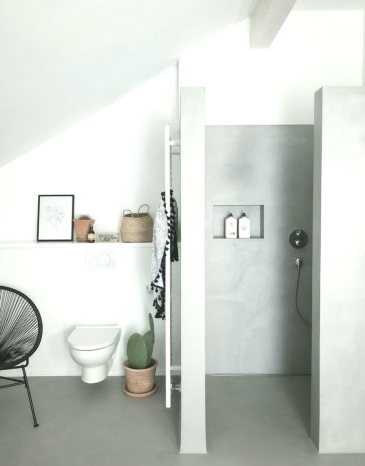 Photo of Badezimmer #bathroom#badezimmer#betoncire #zimmerkleineinrichten