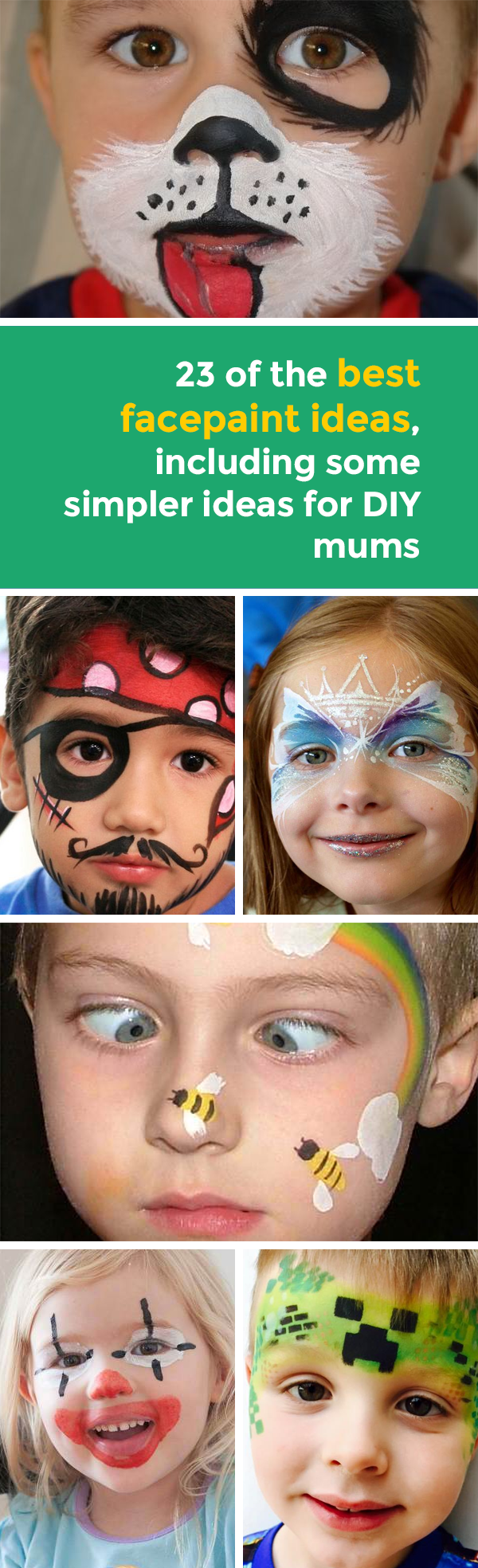24 of the best facepaint ideas including some simpler ideas for diy 24 of the best facepaint ideas including some simpler ideas for diy mums solutioingenieria Gallery