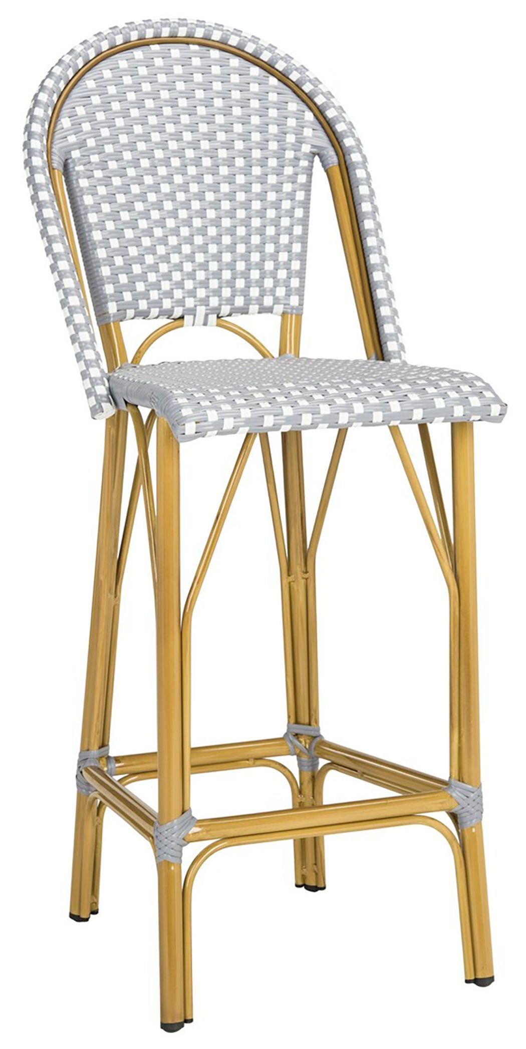 Safavieh Ford Indoor/Outdoor Stacking French Bistro Bar Stool