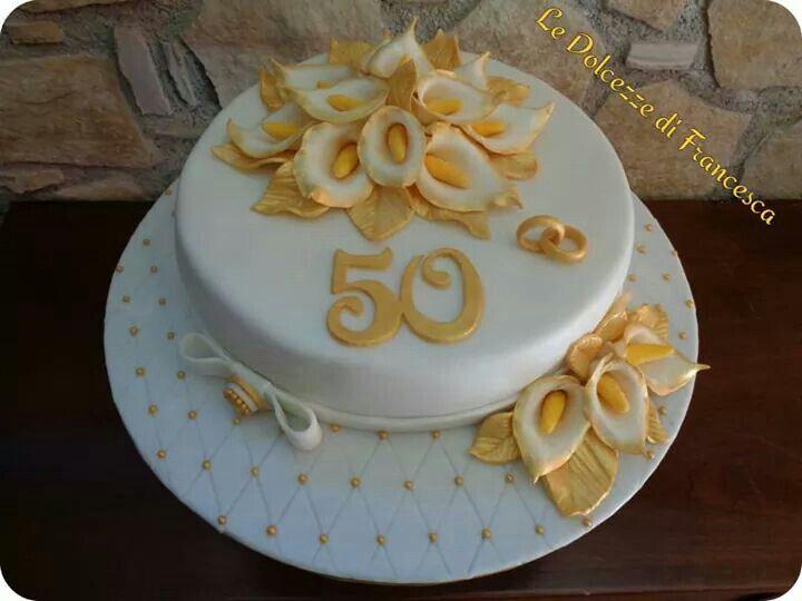 Torta 50 anni matrimonio le mie dolci creazioni nel for Cucinare per 50