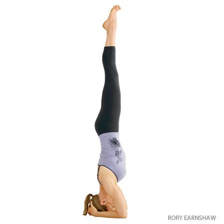 Supported Headstand Salamba Sirsasana Headstand Yoga Yoga Inversions Headstand Yoga Poses
