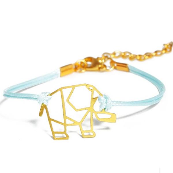 Photo of Origami Elephant Boho-Bracelet